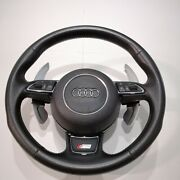 Audi A6 C7 S Line Leather Multi Function Paddle Shift Steering Wheel A7 A8 Rs6 7