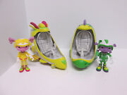 Floogals Boomer Flo Fizzle Vehicle Figures Space Ship Playset Toys Lot 2017