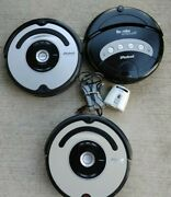 Lot Of 3 Irobot Roomba Vacuum Cleaners 560 4260 With Charger.