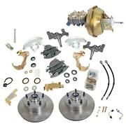 Summit Racing� Complete Drum-to-disc Brake Conversion Kits With Lowering Spindle