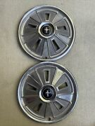 1966 Ford Mustang Hubcaps - Vintage Wheel Cover Center Cap