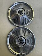 1965 Ford Mustang Hubcaps - Vintage Wheel Cover W/ Center Caps