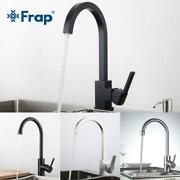 Frap New Arrival Hot And Cold Water Kitchen Sink Faucet Space Aluminum Water Mix