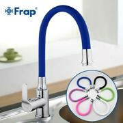 Frap Silica Gel Nose Any Direction Rotating Kitchen Faucet Cold And Hot Water Mi
