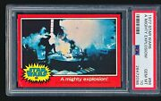 1977 Star Wars And039a Mighty Explosionand039 86 Psa 10 - Tough Low Pop 1/8