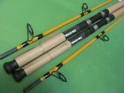 Lot Of 2 Daiwa Ft Boat Series 7' 0 Medium Heavy Action 2 Piece Spinning Rods.
