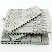 August Hobby Casting Model Metal Ingots X20 Bars Lead Tin Bismuth Pa2047