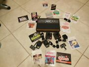 Xx04 Great Used Atari Video Gaming Computer System Cx-2600 27 Games Wow