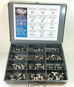 Alpha 8mm Tube Fitting Kit Lot Of 70 Pieces