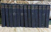 The Works Of Theodore Roosevelt In 14 Volumes-executive Edition-collier
