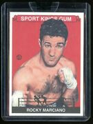 Sealed 2007 Sportkings 23 Rocky Marciano Sport Kings Gum Boxing Legend Rare
