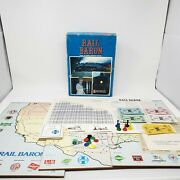 Avalon Hill Board Game Rail Baron 1977 Edition Complete Except For Card Holders