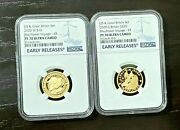 2020 400th Anniversary Of The Mayflower Voyage Us And Uk Gold Set Ngc Pf70 Uc