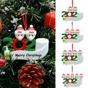 For 2020 Xmas Personalized Christmas Ornament Xmas Hanging Ornaments Family Gift