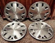 Set Of 4 Oem 1980s 1990s Chrysler Dodge Plymouth 14 Hubcap Wheel Covers 4284674