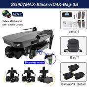 Sg907max Gps Drone 4k Hd Dual Camera 5g Professional Aerial Photography Brushles