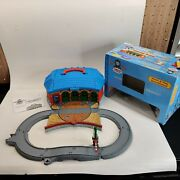 Learning Curve 2003 Thomas The Train Take Along Work And Play Roundhouse Portable