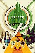 Wizard Of Oz By Tom Whalen Limited Edition Screen Printed Movie Poster Mondo