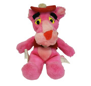 10 Vintage 1980 Mighty Star Pink Panther Be My Love Stuffed Animal Plush Toy