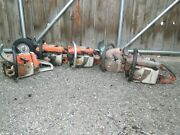 Lot Of 6 Stihl Chainsaws For Parts Or Repair