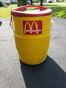 Old Vintage Mcdonald's Igloo Commercial 10 Gallon Drinking Water Cooler