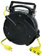 12 - 3 40and039 Retractable Hd Electric Cord Reel 8140t-p Prolight Replaces 8040t-p