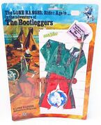 Gabriel Marx Toys The Lone Ranger The Bootleggers Figure Outfit Moc`75 Rare