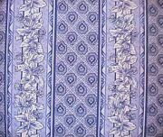 Longaberger Rare Retired Provincial Paisley Floral Stripe Fabric-new-stop Store