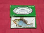 Castaic Soft Bait Baby Sunfish With Box Old Vintage Fishing Lures Free Shipping