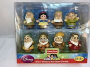 New Fisher Price Little People Snow White And The Seven Dwarfs Factory Sealed