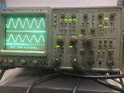 Tektronix 2465a 4 Channel Analog Oscilloscope 350 Mhz Opt 10 11 22 With Probes