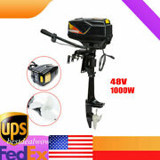 48v 1000w Brushless Electric Outboard Motor Engine 3000 Rpm Boat Engine Usa
