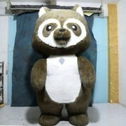 Inflatable Suit Raccoon Doll Clothing Mascot Costume Suits Cosplay Party