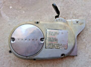 Genuine Yamaha Chappy Lb50 80 Engine Left Side Cover Magneto Cover Automatic