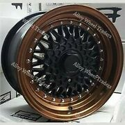 Alloy Wheels 16 Rs For Volkswagen Caddy Derby Polo Lupo Golf 4x100 Mb Bronze