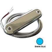 Shadow-caster Courtesy Light W/2and039 Lead Wire - 316 Ss Cover - Bimini Blue - 4-...