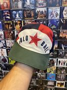 Og Vintage Polo Ball Hat Cycle P Wing Rare Fitted Stadium Cap