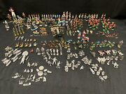 Grenadier Ral Partha Unknown Unmarked 250+ Pc Mini Lot Dandd Army Soldiers Cowboy