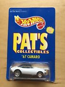 Hot Wheels 1995 Limited Edition Pats Collectibles '67 Camaro - White - New