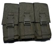 Specter Gear 756 Coyote Usmc Us Military Molle 6 Rifle Mags Pouch 3 Doubles Sbs