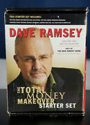 Dave Ramsey Total Money Makeover Starter Set New Old Stock Included Dvd's, Books