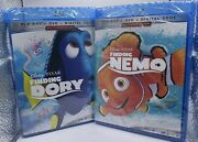 Finding Nemo And Finding Dory Blu-ray - Dvd - Digital Code