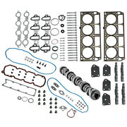Head Gasket Set W/bolts + Lifters + Camshaft For Gm For Chevy 5.3l 2005-2014