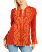 Johnny Was Midge Blouse Womenand039s