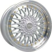 Alloy Wheels 16 Rs For 5x100 Lexus Ct200h Mg Zt Rover 75 Mg6 Mg7 Wr Spl Gs