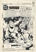 Green Lantern 162 Production Art Stat Cover Final Print + Color Guide Story