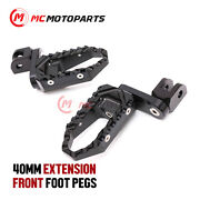 Front 40mm Extension Touring Foot Pegs For Xv 750 535 1100 Virago Vmax1200 -mc