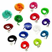 Shengsen 150 Pack Magic Worm Toys Wiggle Pets Fuzzy Worms On String Trick Toy...