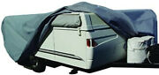 Pop Up Camper Trailer Cover Outdoor Storage Weather Shield 10'-1 To 12' Tarp