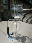 Hellem 6 Cup Glass Vacuum Coffee Maker W Alcohol Burner And Stand Instructions